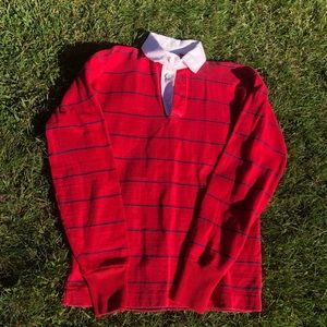 Lands' end authentic rugby shirt S